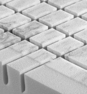 Precision cut Pantera foam springs